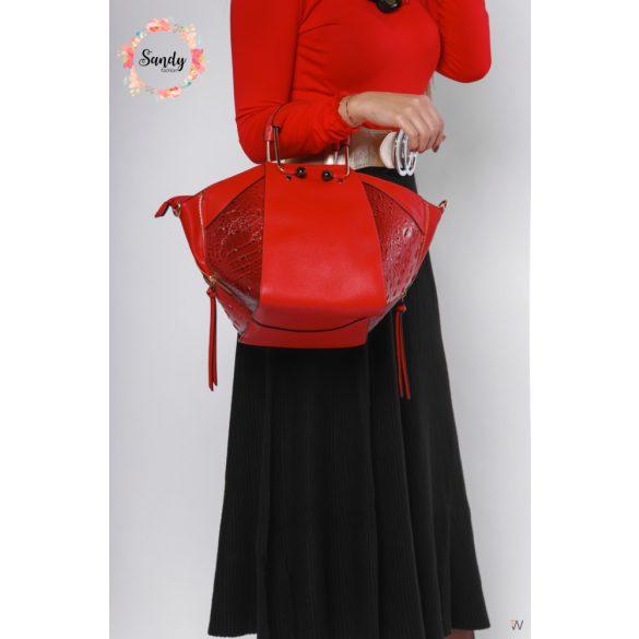 Sandy Bizsu BigB táska, piros